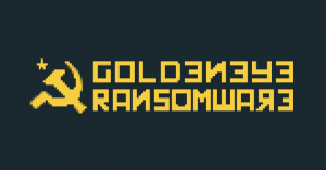 Ransomware Attack Goldeneye