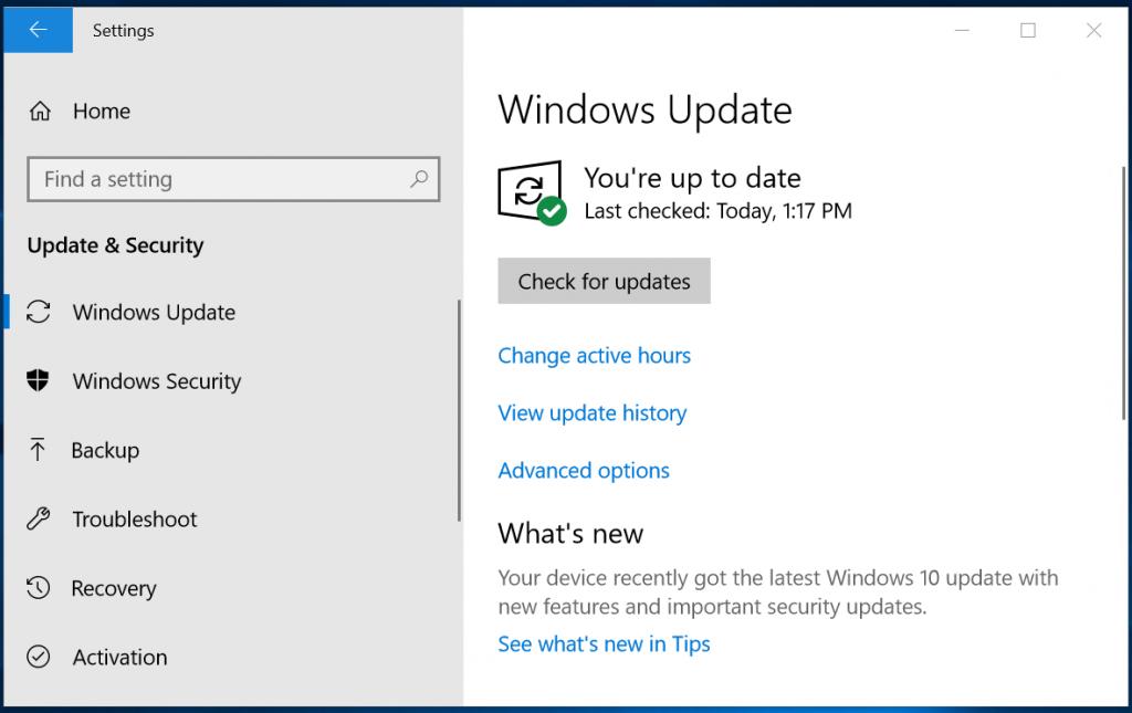 windows 10 update settings 2